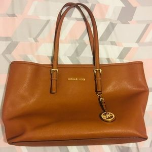 Michael Korda large tote Tan Leather